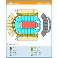 Gila River Stadium Seating Chart Gila River Arena Events And Concerts In Glendale Gila