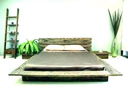 tall wooden bed frame – elevationrecords.co