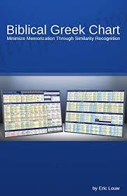 Biblical Greek Chart Minimize Memorization Through Similarity Recognition Eric Louw Biblical Language Charts