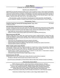 A resume template for a Senior-Level Administrator You can - senior  developer resume