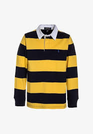 polo ralph lauren rugby polo shirt chrome yellow multicolor