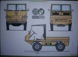fiat parts and supplies steyr puch haflinger poster