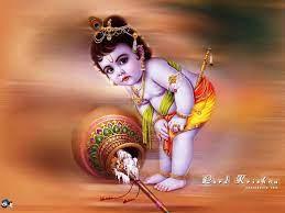 Baby krishna, Bal krishna, Lord krishna ...
