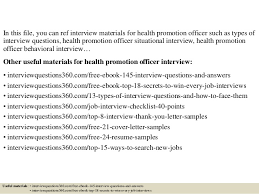 Top 10 Health Promotion Officer Interview Questions And Answers 2 638 Jpg