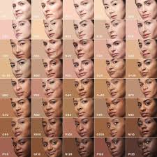 Maybelline Fit Me Foundation Shade Chart Foundations With Wide Ranges Makeup Brands With 40 Shades