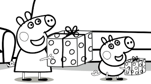 Small Picture Peppa Pig Fathers Day Coloring book Coloring pages for kids