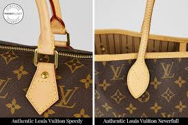 check the sching to authenticate louis vuitton sdy and neverfull bags
