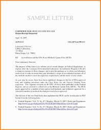 11 Certified Letter Template Fillin Resume