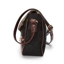 Coach Stud In Signature Medium Black Crossbody Bags AYU Outlet Online