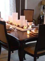 glass dining room table decor. awesome candle decor with centerpieces for dining room tables design glass table