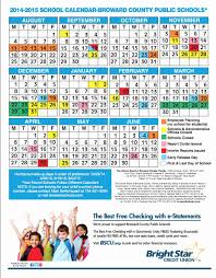 School Calendar 2015 16 Printable Broward County School Calendar 2015 Calendar Template