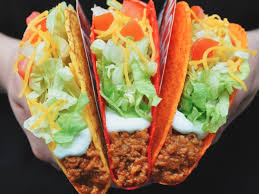 taco bell tacos png.  Taco Taco Bell Is Giving Away Free Doritos Locos Tacos On Tacos Png