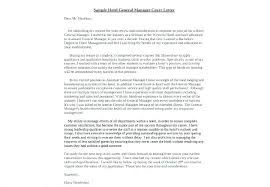 Hospitality Management Cover Letter Restaurant Manager Cover Letter ...