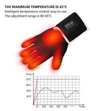 <b>Motorcycle</b> Rechargeable <b>Electric Heated Gloves</b> Outdoor Warm S ...
