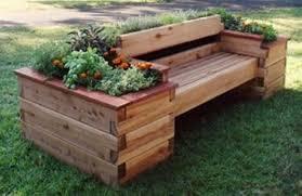 garden bench planter box. diy pallet furniture garden bench with planter box diy craft ideas \u0026 gardening