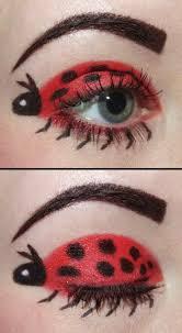 lady bug eye makeup
