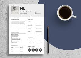 Unique Resume Simple Free Unique Resume Design CV Template In PSD Ai Files Good Resume