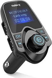 NULAXY Bluetooth <b>FM Transmitter</b>, <b>Wireless Bluetooth</b> Car: Amazon ...