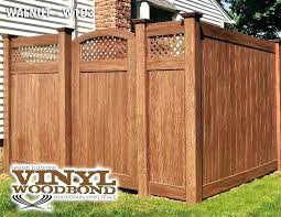 brown vinyl fence panels. Perfect Fence Brown Vinyl Fence Wood Grain Panels  T  With Brown Vinyl Fence Panels V
