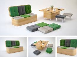 Small sofa table Modern Architecture Art Designs Convertible Sofa Easily Transformed Into Small Dining Table