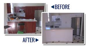 Respray Kitchen Cabinets Kitchen Resurfacing For Your Tired Benchtops Cabinets
