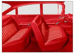 1959 chevrolet impala parts interior soft goods seat upholstery upholstery kits classic industries