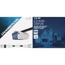 chamberlain 1 2 hp garage door openerChamberlain 12 HP AC Motor Chain Drive Garage Door Opener  C203