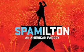 Spamilton An American Parody Pittsburgh Official Ticket