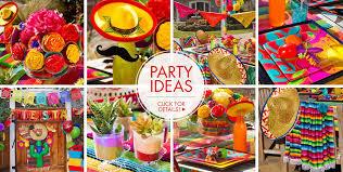 Fiesta Table Decorations Fiesta Cinco De Mayo Decorations