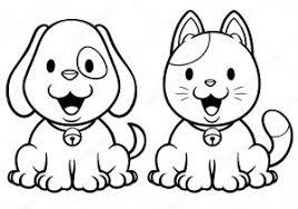 Disegni Da Colorare Cani E Gatti Fredrotgans