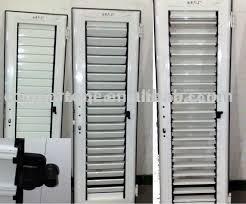 Aluminum Louver Door Swing Up And Down  Buy Aluminum Louver Door Aluminum Louvered Exterior Doors