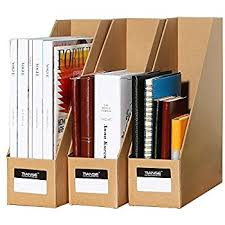 Magazine Holder Cardboard Amazon TIANSE File Magazine Holder Desk Storage Organizer 97