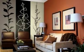 decorating walls with paint painting ideas for orange whitewash wall best interior 17