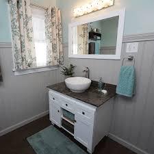vessel sink and vanity