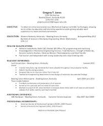 Sample Intern Resume Resume Template For Internships For College ...