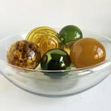 Decorative Glass Balls For Bowls Hand Blown Decorative Glass Balls Worldly Goods Too 85