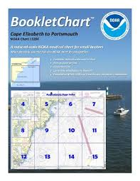 Kennebunk Tide Chart Bookletchart Cape Elizabeth To Portsmouth Noaa Chart 13286