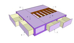 king storage bed plans. Building A Storage Bed King Plans U
