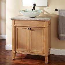alluring bathroom sink vanity cabinet. Alluring Vessel Sink Vanity On Wooden Navity Under Square Mirror Plus Chic Towel Bathroom Cabinet