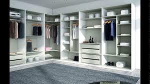 walk in closet pequenos y modernos madera para cuartos modelos
