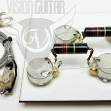 1956 60 pre wired les paul wiring harness kit long shaft cts pots 1956 60 pre wired les paul wiring harness
