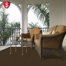 carpet floor mats outdoor indoor rug water resistant patios lanais brown