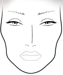face chart template gallery template design ideas