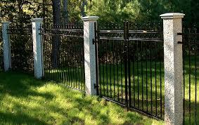 fence post. WM Granite Fence Posts \u0026 Caps Iron Post