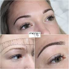 micro art ldn london brow tattoo semi permanent makeup ombre powder eyebrow watford