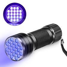 395 Nm Uv Light Beboncool Uv Flashlight Blacklight 21 Led 395 Nm Ultraviolet Led Flashlight Uv Black Light Flashlight Pets Urine And Stains Detector Spot
