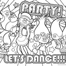 Educations Christmas Trolls Movie Coloring Pages 24 Unique Fantasy