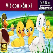 Vietnamese Fairy Tales - Vịt con xấu xí | Chuyen co tich | Truyện cổ tích | Truyện  cổ tích việt nam