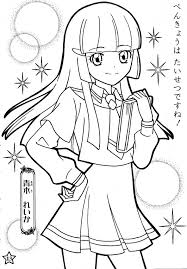 Glitter Force Coloring Pages Of Number Lucky Free Heart Lol Series