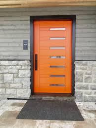 Orange front door Feng Shui Image Result For Exterior House Color With Orange Front Door showroomexteriordesign Pinterest Image Result For Exterior House Color With Orange Front Door